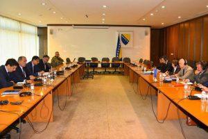 Simultandolmetschen beim Treffen in Sarajevo